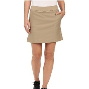 ADIDAS Khaki Golf Tournament Skort Skirt [C7]